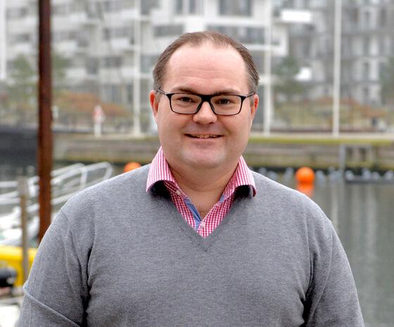 Lars Hedal, adm. direktør hos Hesehus