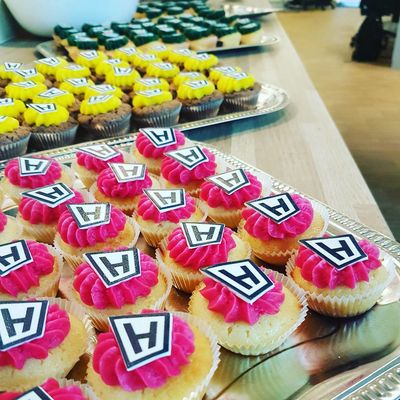 Hesehus ERFA gruppemøde cupcakes