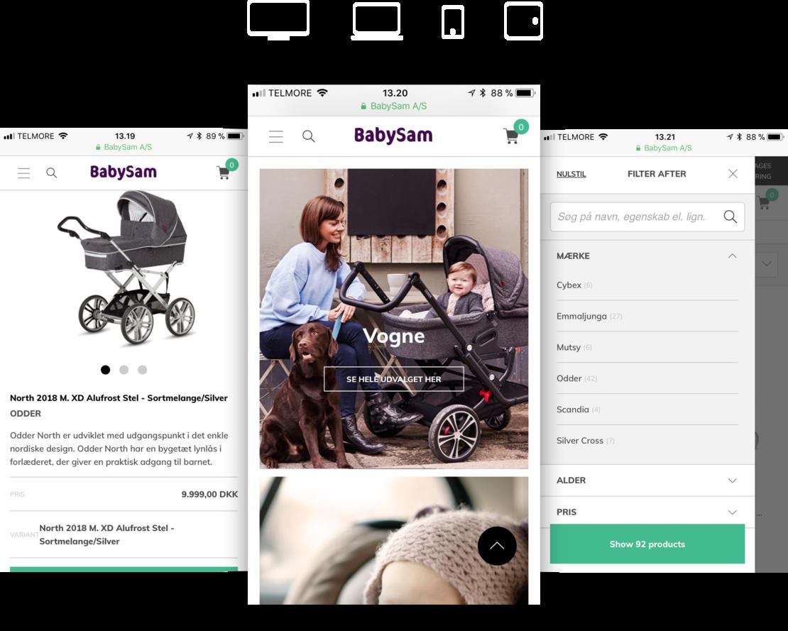 BabySam design by Hesehus