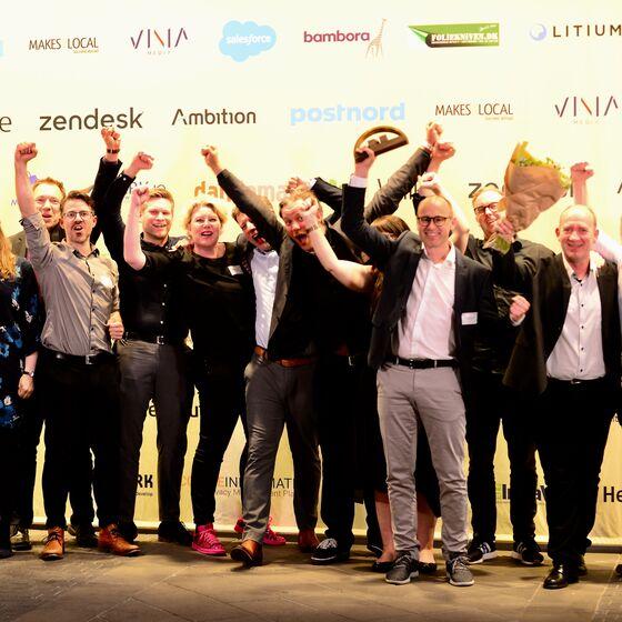 A.O. Johansen med BilligVVS vinder guld og sølv til E-handelsprisen 2019
